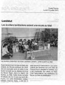 Article sur l'école de lanildut