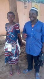 Aïssata et son père-Contrôles de Juillet 2017
