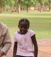 Aïssata à Bamako en Mars 2012
