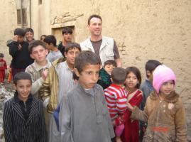 Dans une rue de Kaboul...