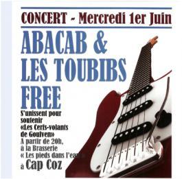 Affiche du concert de juin 2011
