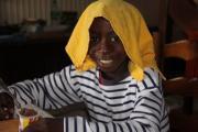 Ibrahim dans sa famille d'accueil-2