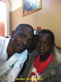 Ibrahim et Dr. Moumine Diarra