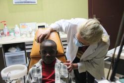 Salif chez le dentiste