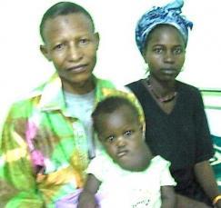 Oumou et ses parents - 24 Juin 2013