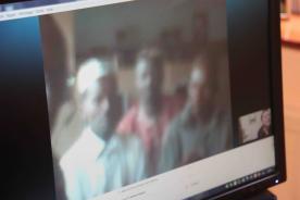Skype avec le Papa d'Amirou - 15/07/2014