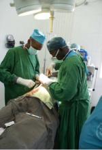 Pendant l'opération de Demba
