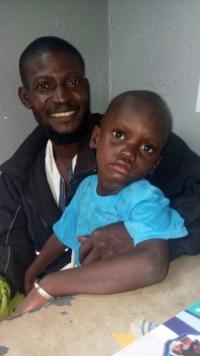 Diby et son papa